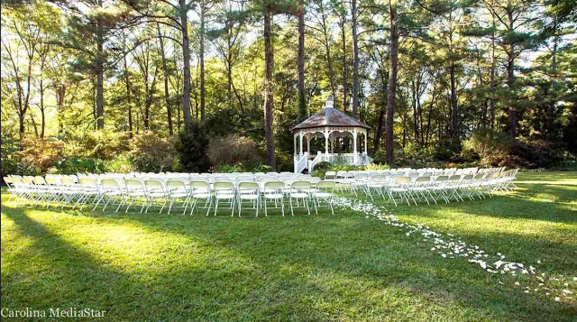 Cape Fear Botanical Garden Wedding Venue