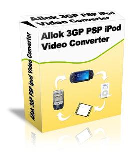 Allok 3gp psp mp4 ipod video converter activation code