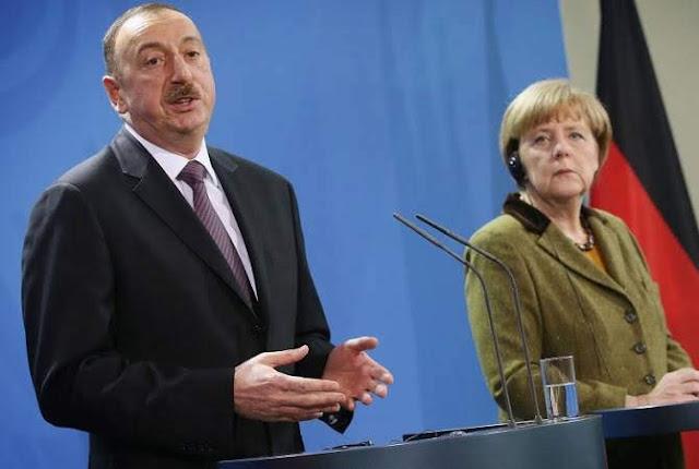 Merkel quiere ampliar con Bakú sector energético