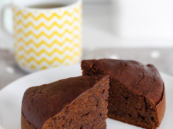 Torta alla zucca con cacao e amaretti