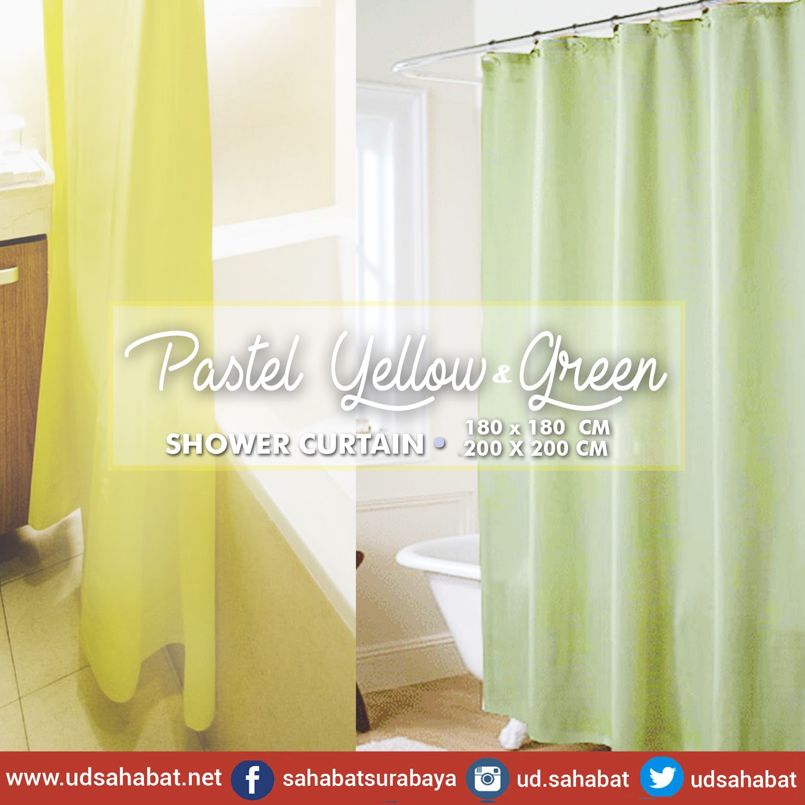 jual shower curtain surabaya udsahabat