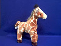 giraffe plush stuffed animal zenith