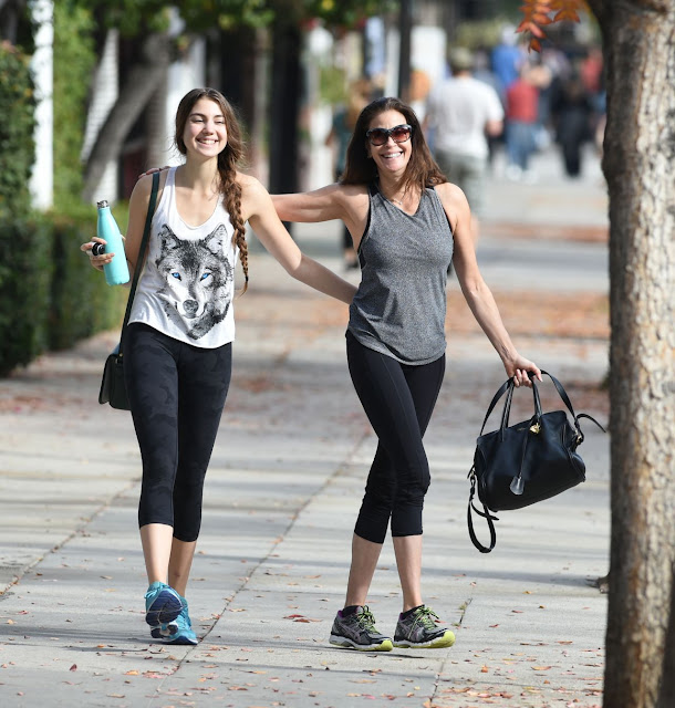 Teri Hatcher and Daughter Emerson Rose Tenney Image