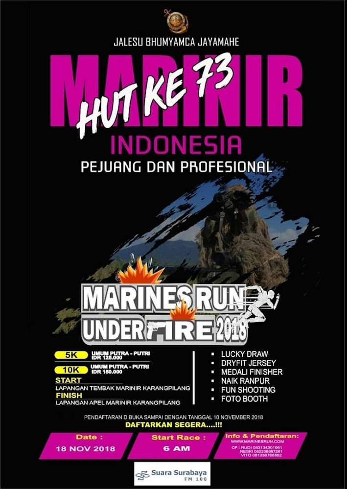 Marines Run Under Fire • 2018