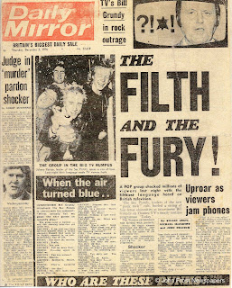 Daily Mirror Sex Pistols 1976 The Filth And The Fury The Best Year Of Our Lives by Phil Andrews