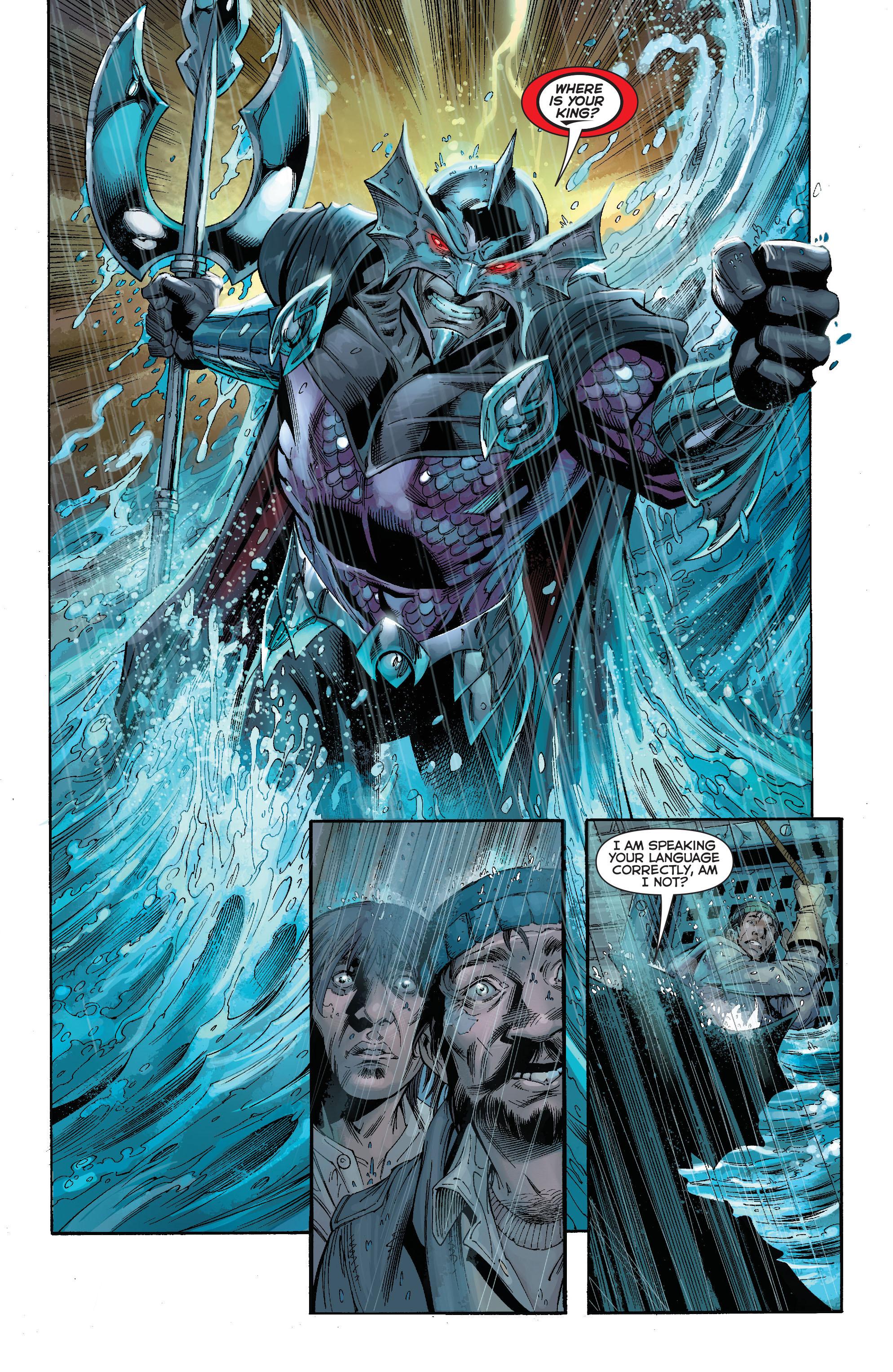 Read online Aquaman (2011) comic -  Issue #15 - 18