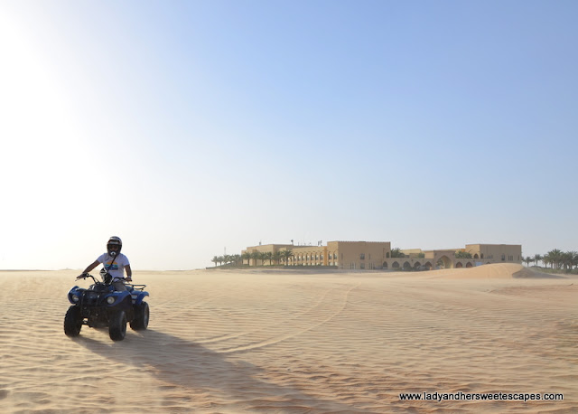 quad biking in Tilal Liwa