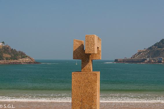 Escultura de Eduardo Chillida. 20 cosas para ver en Donostia