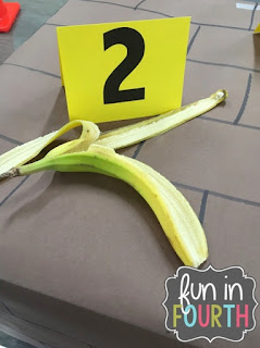Clue two: a banana peel