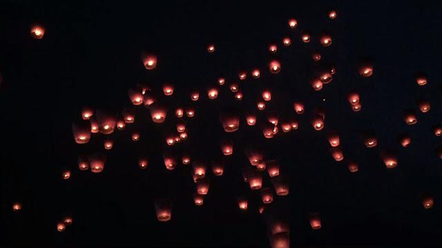 sky lanterns pingxi sky lantern festival taiwan