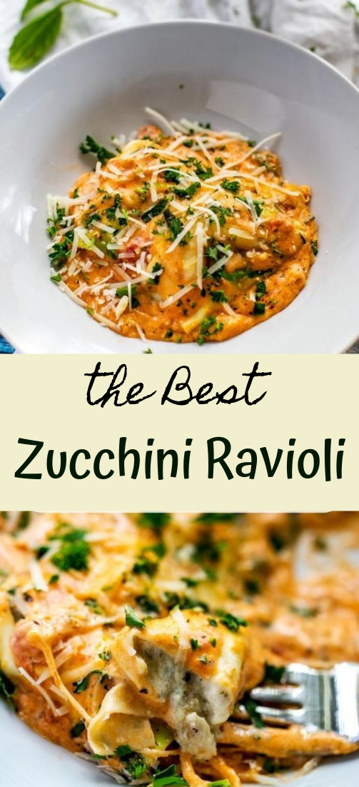 Zucchini Ravioli #vegan #recipevegetarian