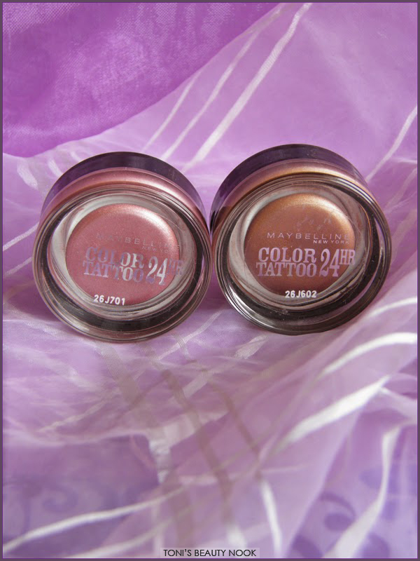 maybelline color tattoo pink gold on and on bronze