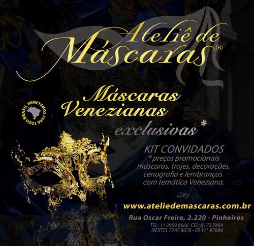 bc90c541a Máscaras Venezianas Exclusivas - o mais tradicional Ateliê de Arte  Veneziana no Brasil
