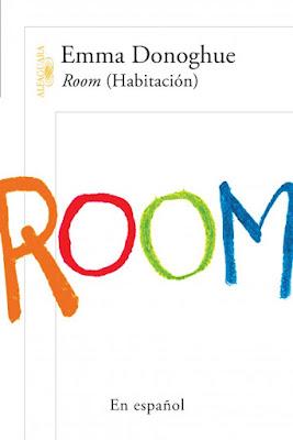 Libro (Room en Ingles) escrito por Emma Donoghue