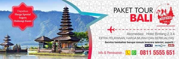 Brosur Vertikan Paket Tour Bali