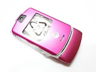 Casing Hape Motorola V3 Jadul New Fullset Langka