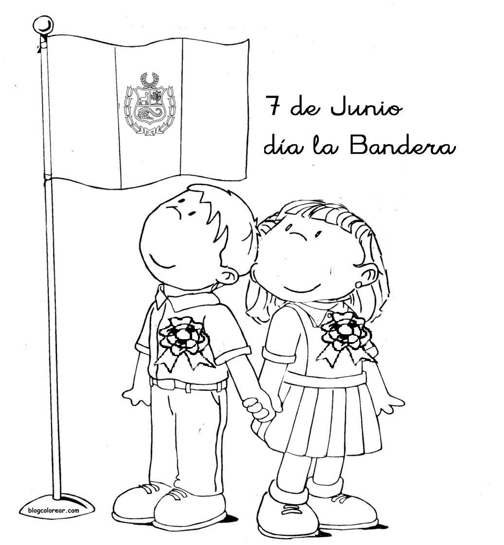 Bandera Del Salvador Para Colorear Www Tollebild Com
