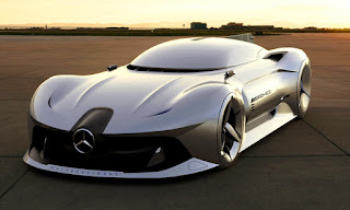 Mercedes Benz 2040 W196R Streamliner