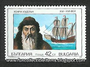 Henry Hudson Stamp