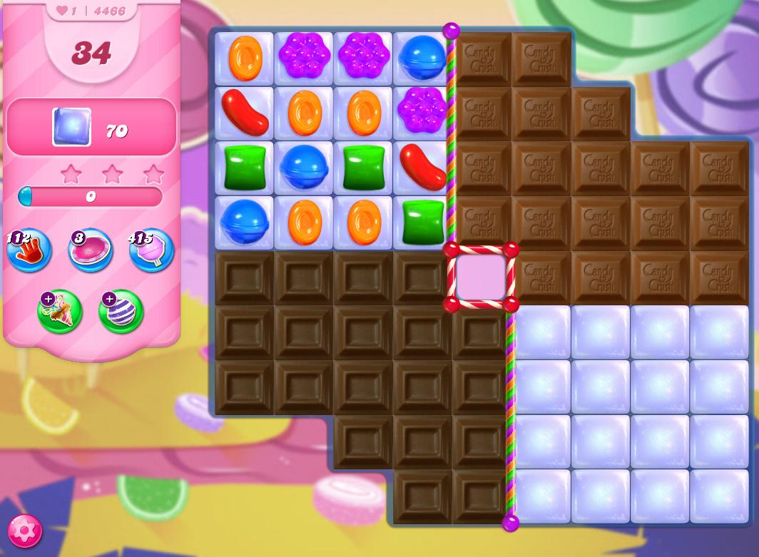 Candy Crush Saga level 4466