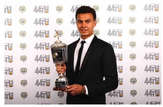 Dele Alli Beats Kane, Lukaku, Sane To Pfa Young Player Of Year