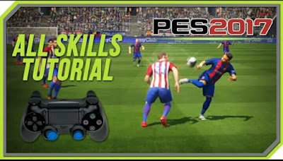 Trik Rahasia Bermain Game PES 2017/ 2018 PS3