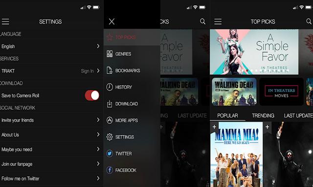 اقوى تطبيق لمشاهدة الافلام وتحميلها مجاناً على ايفون واندرويد