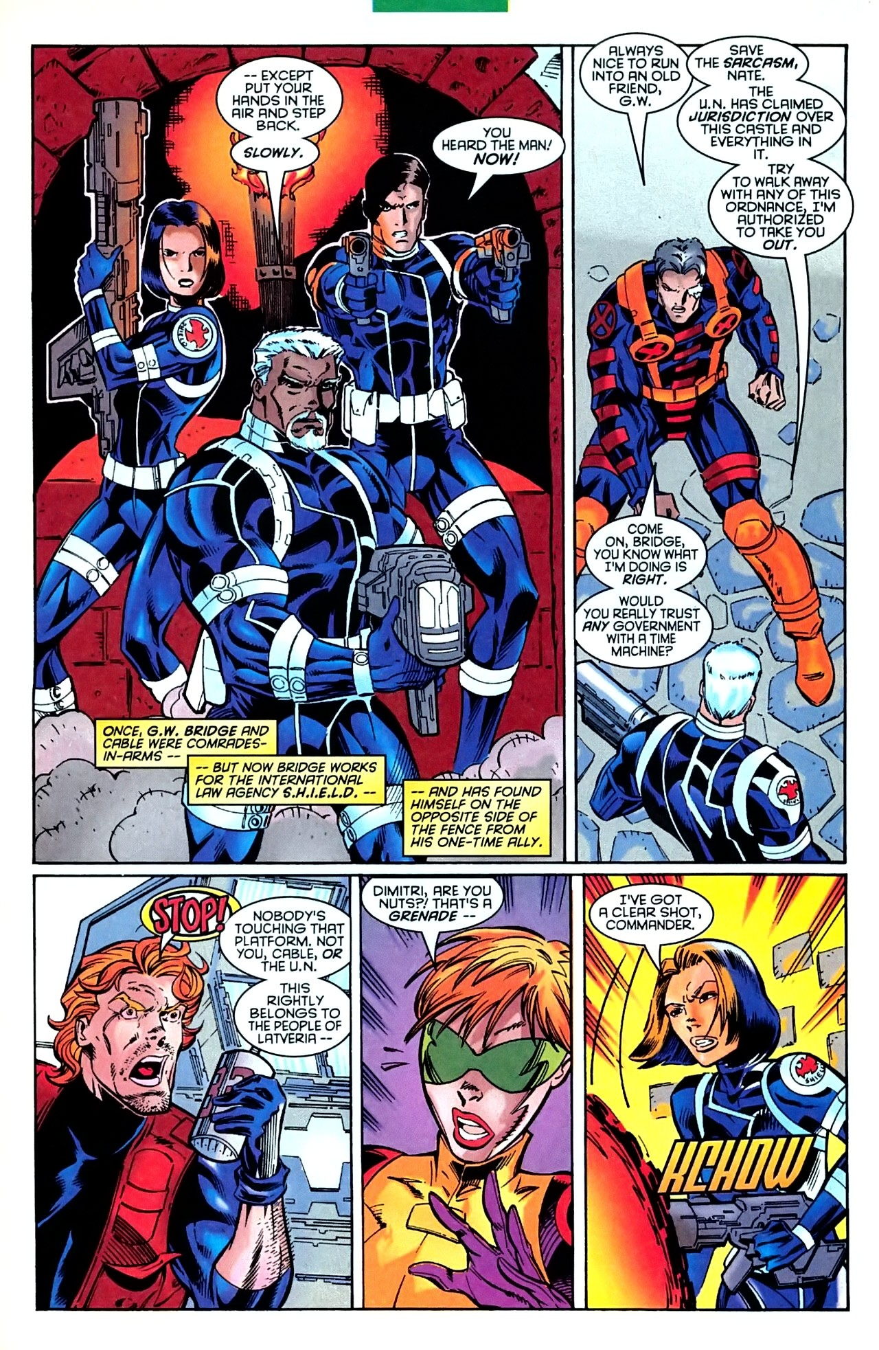 Read online X-Force (1991) comic -  Issue #63 - 30