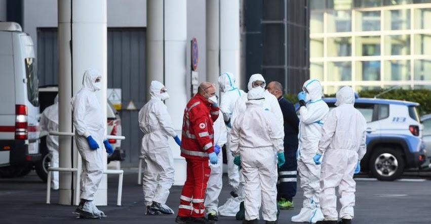 CORONAVIRUS: Aumentan a más de 5.400 los fallecidos en Italia