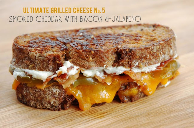 Image for list of recipe for the Ultimate Grilled Cheese Sandwich
