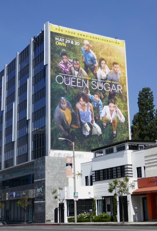 Giant Queen Sugar season 3 billboard