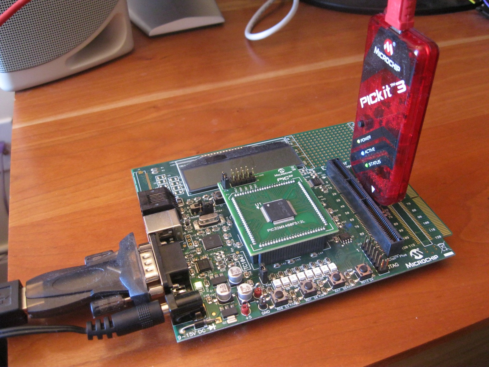 Learning to Walk in the Embedded World: Using the UART on the PIC32
