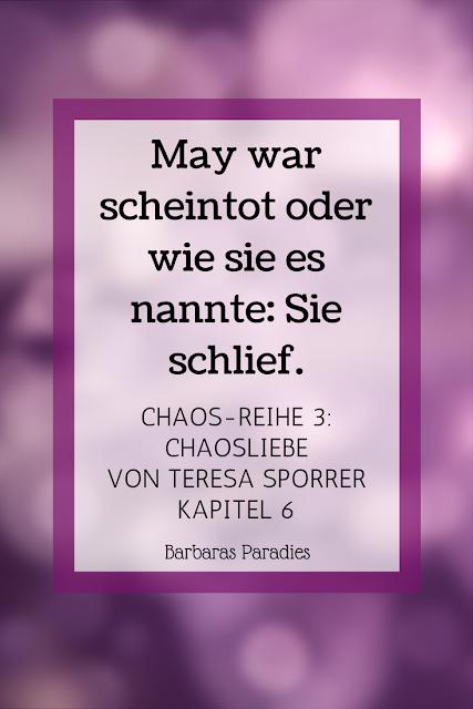 Buchrezension #162 Chaos-Reihe 3: Chaosliebe von Teresa Sporrer