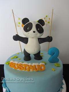 bolo panda bragança