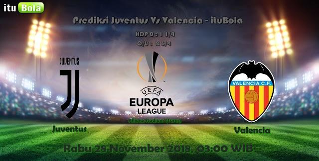 Prediksi Juventus Vs Valencia - ituBola