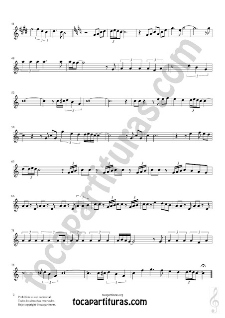 Hoja 2 de 2 Hoja 1 de 2 Oboe Partitura de Yo le seguiré (I will follow him) Sheet Music for Oboe Music Score
