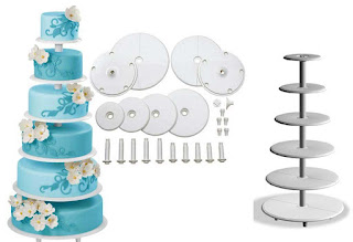 Perfect Towering Tiers Wedding Cake Stands