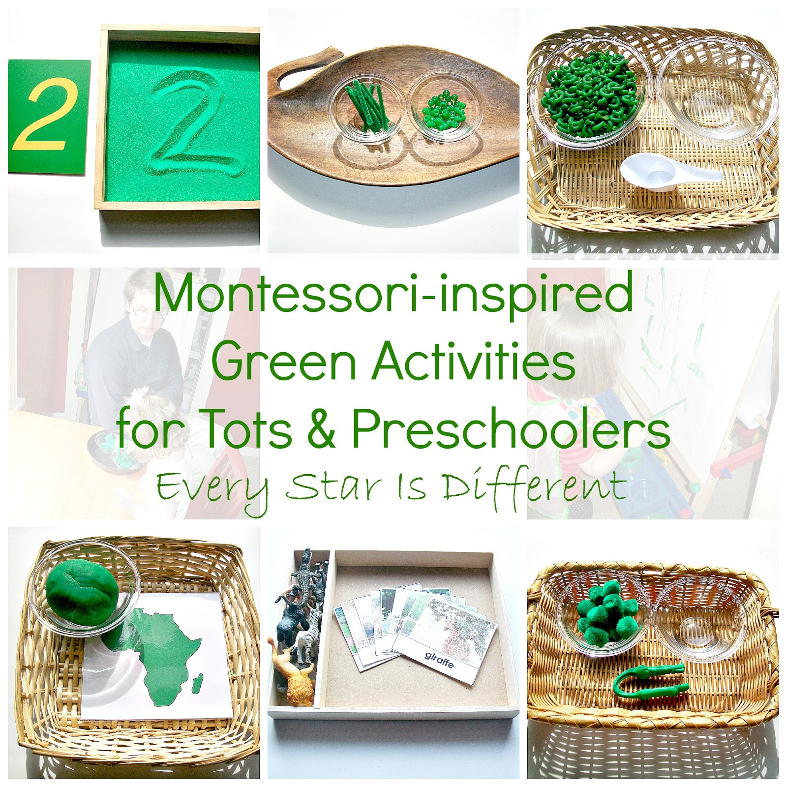 Every Star Is Different Activities Amp Free Printables For Tots Amp Preschoolers