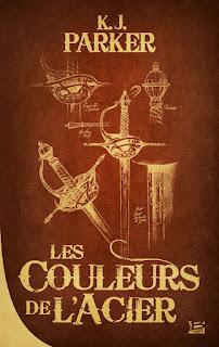 couverture du livre les couleurs de l'acier
