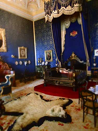 Quarto da Rainha Ajuda Palace.