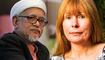 Hasil carian imej untuk Haji Abdul Hadi Awang terhadap Clare Rewcastle Brown