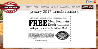 Boston Market Coupons