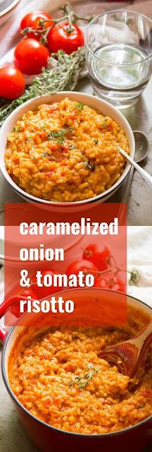 Caramelízed Oníon & Tomato Rísotto