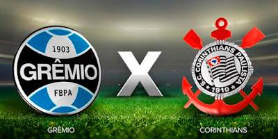 Horário do jogo Grêmio x Corinthians 25-06-2017 -  Brasileirão Serie A