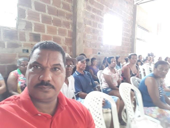 NOTÍCIAS DO MANDATO | Vereador Cícero Custódio se reúne com lideranças de Lagoa de Maria Clemência