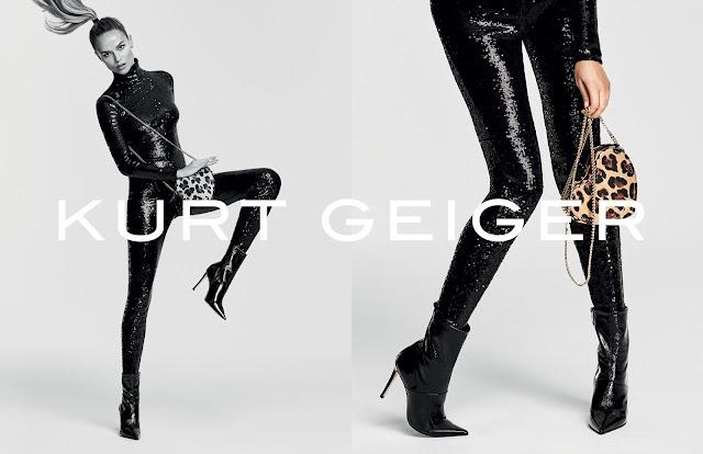 Kurt Geiger AW 16 Ad Campaign