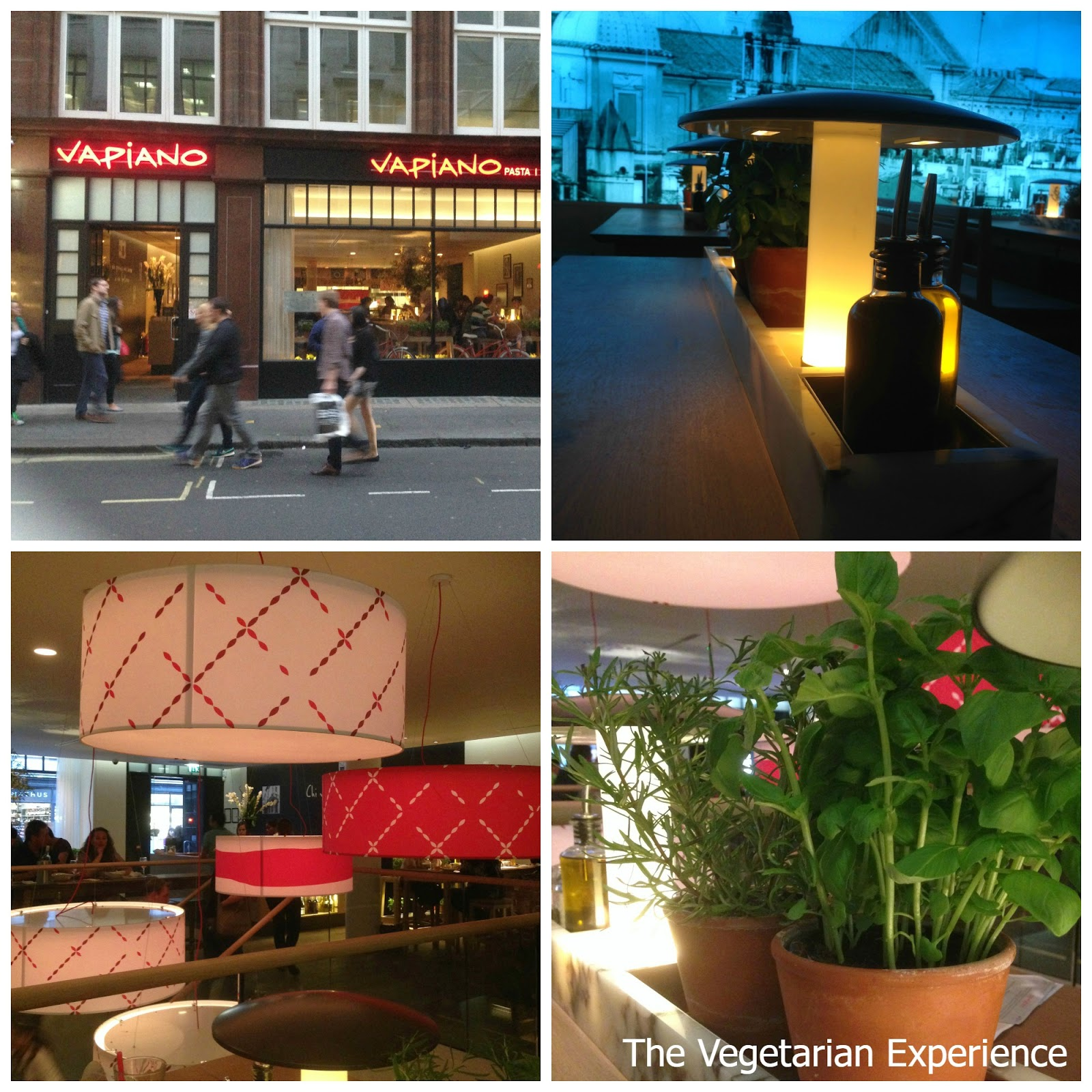 Vapiano Restaurant London