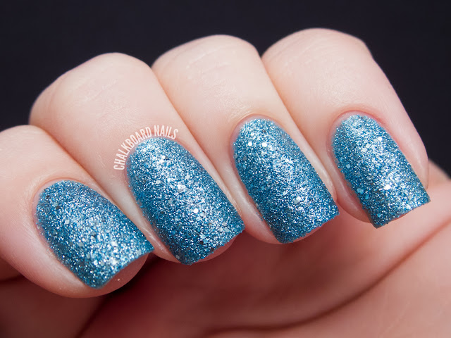 Chalkboard Nails: OPI Tiffany Case Liquid Sand nail polish