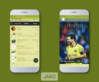 Leon Messi Theme For YOWhatsApp & Fouad WhatsApp By Jako