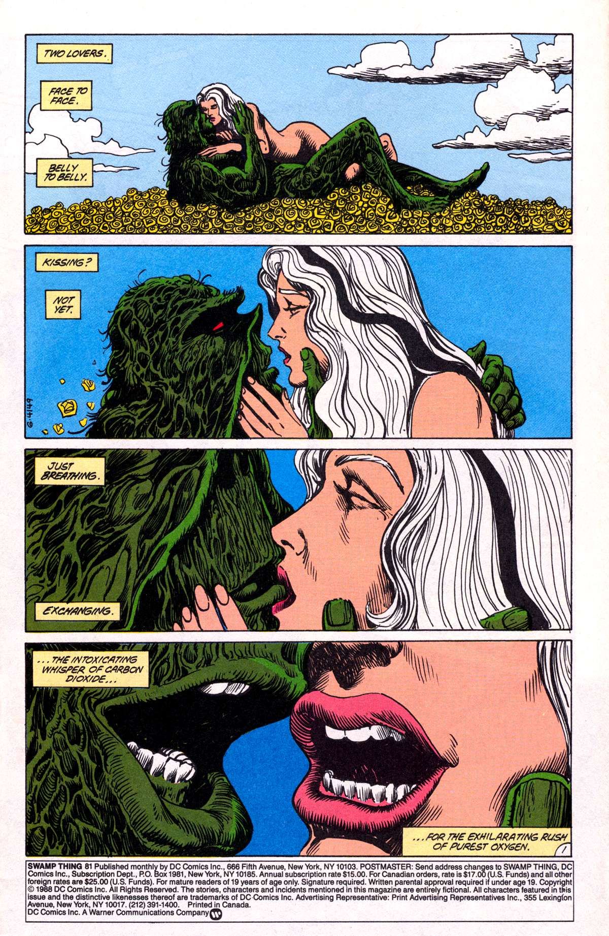 Swamp Thing (1982) Issue #81 #89 - English 3